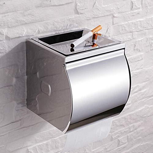 304 stainless steel all-inclusive toilet paper holder, bathroom waterproof...