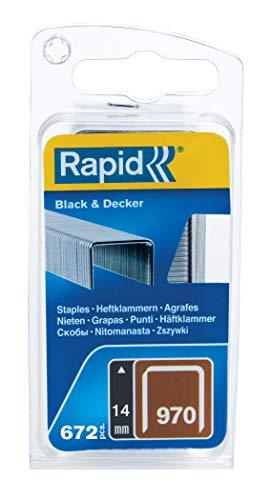 Rapid 40109599 Klammer mit umbiegespitzen (DP) für Black & Decker Produkte Typ...