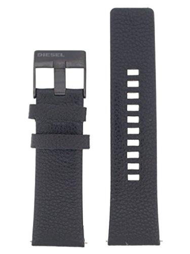 Original Uhrenarmband 26mm Leder Schwarz Uhrband für Diesel DZ-4323 / LB-DZ4323