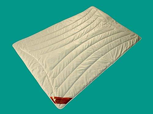 Kamelhaar Bettdecke 240x220 Ganzjahres Steppbett leicht in Übergröße