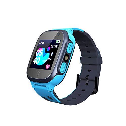 Smooce Kinder Smartwatch LBS Tracker,Touch LCD Kid Smart Watch mit Taschenlampen...