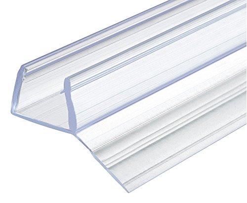 Ersatz-Dichtung 135° Duschdichtung 10-12 mm Glastür-Dichtung 200 cm für...
