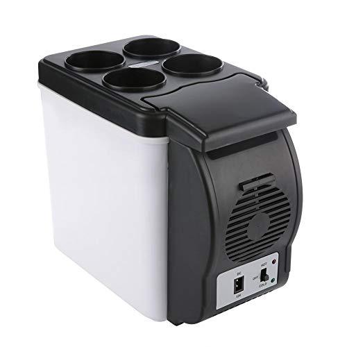 Asixx Minikühlschrank, 6 Liter Fassungsvermögen, Tiefkühlkost im Sommer,...