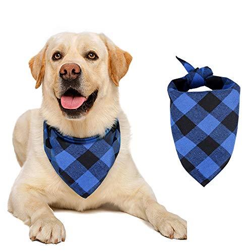NIliker Hundehalstücher, kariert, 1 Stück/2 Stück, Baumwolle, waschbar,...