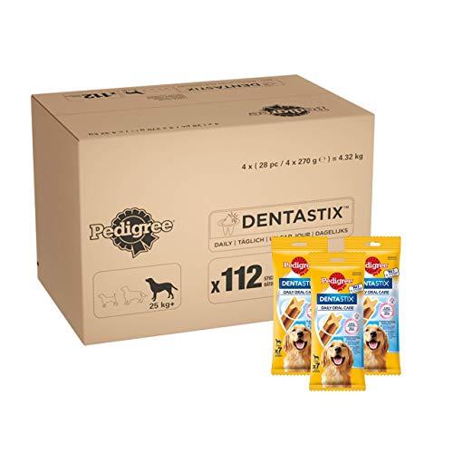 Pedigree DentaStix Daily Oral Care Zahnpflegesnack für große Hunde –...