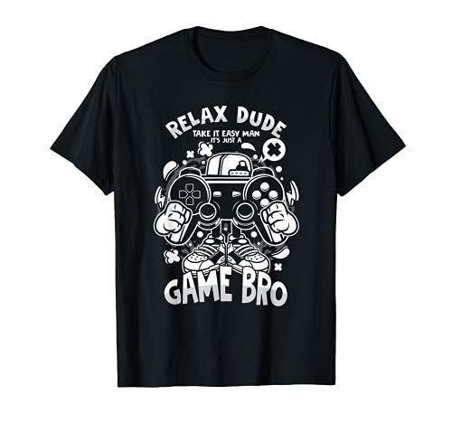 PC Computer Konsole Entspann Dich Spiel Freund Game T-Shirt