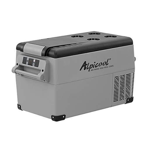 Alpicool CF35 35 Liter Kühlbox 12V tragbarer Mini-Kühlschrank elektrische...