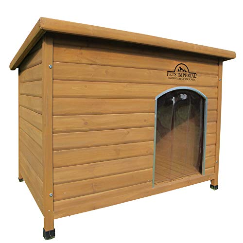Pets Imperial Haustiere Imperial Extra Large Isoliert Holz Norfolk Hundehütte...