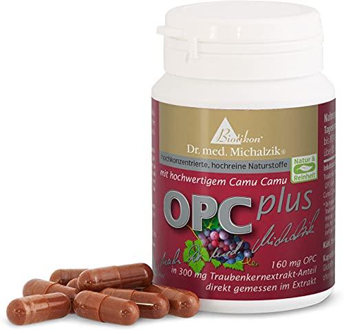OPC Plus nach Dr. med. Michalzik - 72 vegane Kapseln - 300 mg Extrakt aus Vitis...