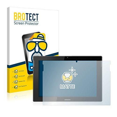 BROTECT 2X Entspiegelungs-Schutzfolie kompatibel mit Medion Lifetab S10366 (MD...