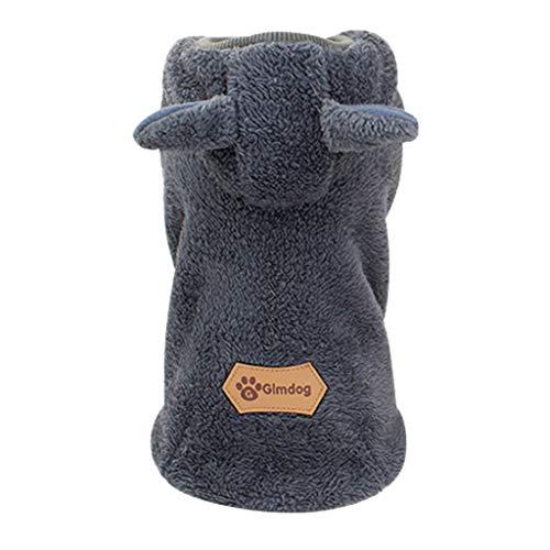 Notdark Baumwolle Casual Haustiere Hund Kleidung Warm Mantel Kapuzenjacke...