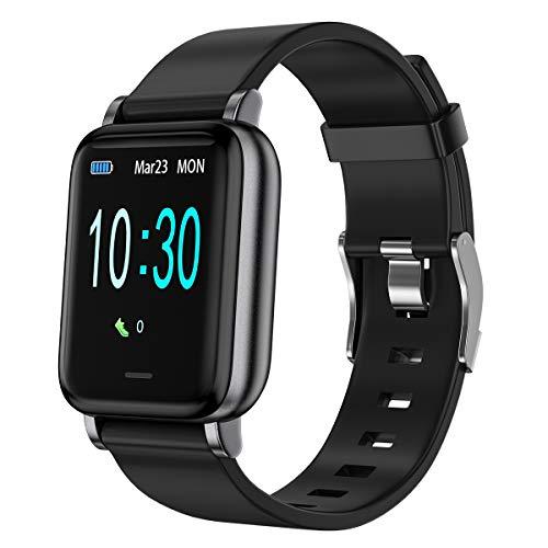 LEBEXY Smartwatch Schrittzähler Fitness Armband Tracker, Wasserdicht IP68...