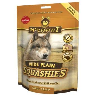Wolfsblut Squashies Wide Plain Large Breed | 300g Hundesnack