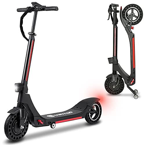 UWITGO Elektro Scooter Erwachsene 25km/h 350W E Scooter Faltbarer mit 10 Zoll...