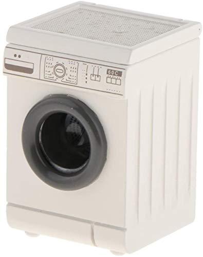 hsj LF- Toy 1:12 Scale Miniatur-Puppenhaus aus Holz Waschmaschine for...