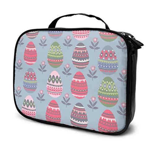 Eier mit verschiedenen einzigartigen Reise-Reise-Kosmetiktaschen...