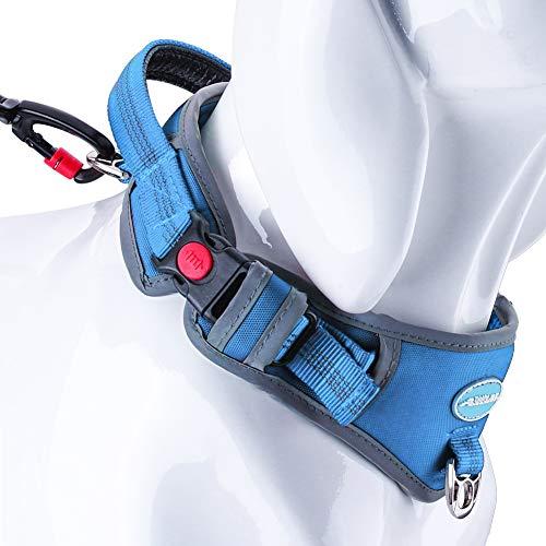 ThinkPet Heavy-Duty Hundehalsband Mit Griff, Verstellbares Reflektierendes...