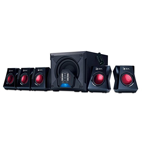 Genius GX Gaming SW-G5.1 3500 5.1 Kanal Gaming Lautsprechersystem (80 Watt RMS)