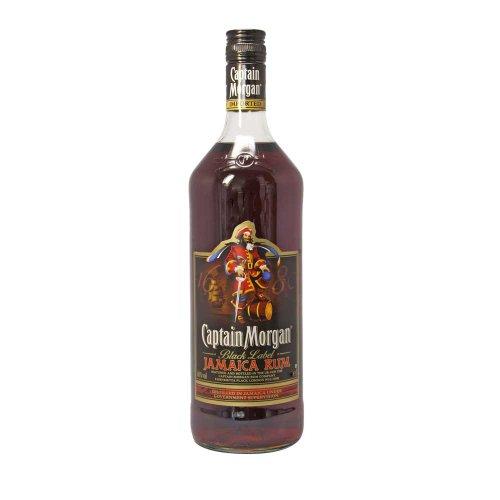Captain Morgan Black Label - 1,0 L Flasche