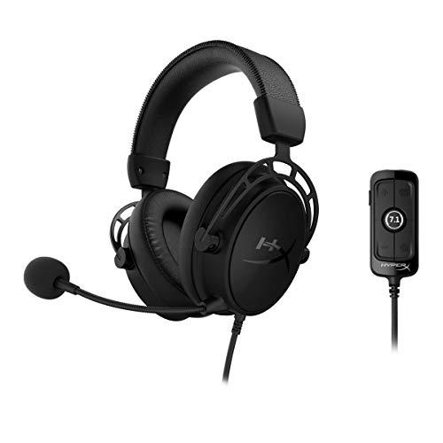 HyperX Cloud Alpha S - Gaming Headset, für PC, PS4, 7.1 Surround Sound,...