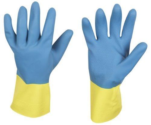 stronghand Industrie Gummihandschuh KENORA, blau-gelb, Größe 10,...