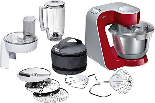 Bosch MUM5 CreationLine Küchenmaschine MUM58720, vielseitig einsetzbar, große...