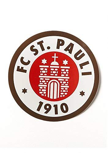 FC St. Pauli Aufkleber, Autoaufkleber, Sticker Logo groß rund farbig - Plus...