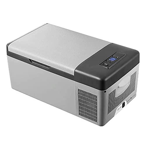 Tragbarer Kühlschrank 15l Mini Auto Kühlschrank Kompressor Gefrierkühlung...