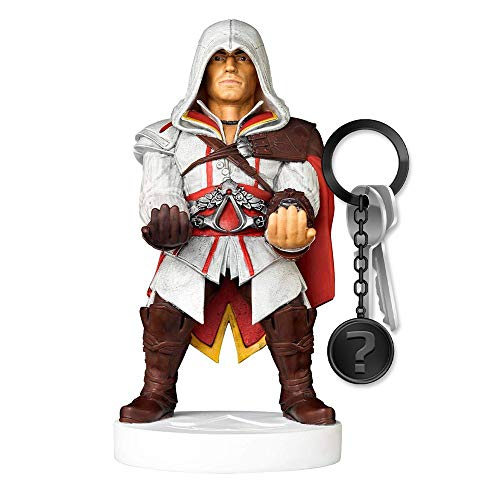 yvolve Assassin's Creed - Ezio - Cable Guy | Set inkl. Schlüsselanhänger