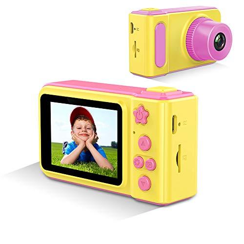 GordVE Digitalkamera für Kinder lustige Aufkleber tragbar kompaktes...