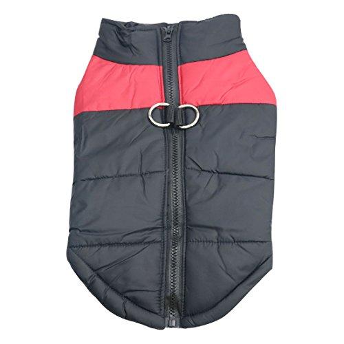 Idepet Haustier Hund Warm Mantel Jacke Wasserdichte Kleidung Kleine mittlere...