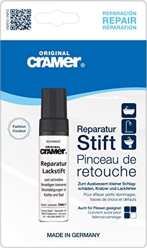 Cramer 15890DE Reparatur-Lackstift Email, Acryl, Keramik, schwarz - Sanitärlack...
