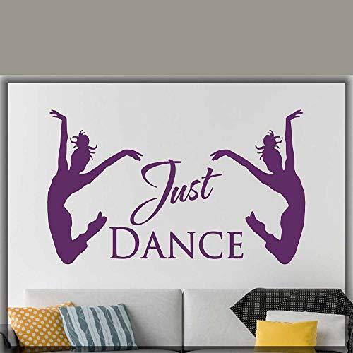 ganlanshu Balletttänzerin Applikation Zitat Wandtattoo Tanzstudio Dekoration...