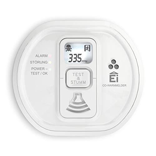 Ei Electronics Ei208D CO Kohlenmonoxidmelder (mit Display und...