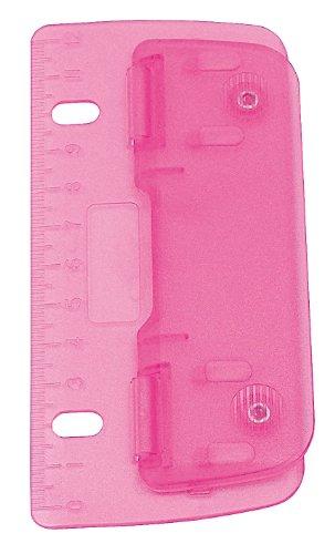 Wedo 67809 2fach Taschenlocher (Kunststoff zum Abheften für 8 cm Lochung, mit...