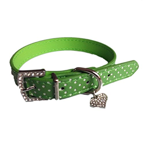Yowablo Zughalsband Würgehalsband Hundehalskette Hunde Leder Halsbänder...