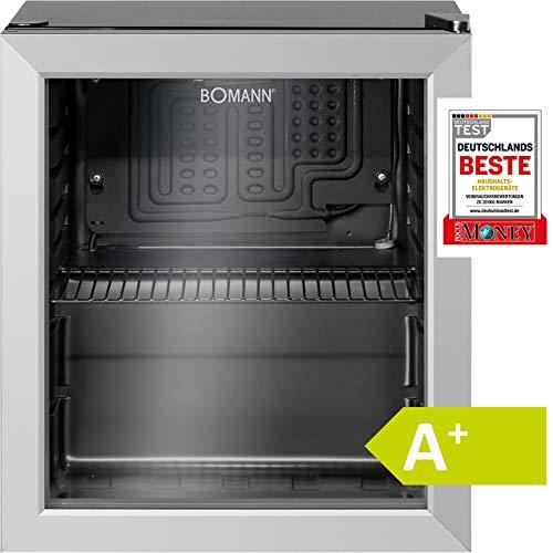 Bomann KSG 237.1 Kühlschrank für Getränke, freistehend, 32 Flaschen, 133...