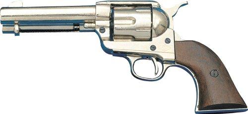 Denix Colt Peacemaker vernickelt USA 1873 – Spielzeugwaffe