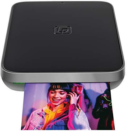 Lifeprint 3x4.5 Tragbarer Foto- und Videodrucker für iOS- und Android-Geräte....