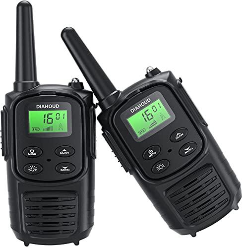 Walkie Talkie für Erwachsene, Handheld PMR 446 Walky Talky Outdoor VOX...