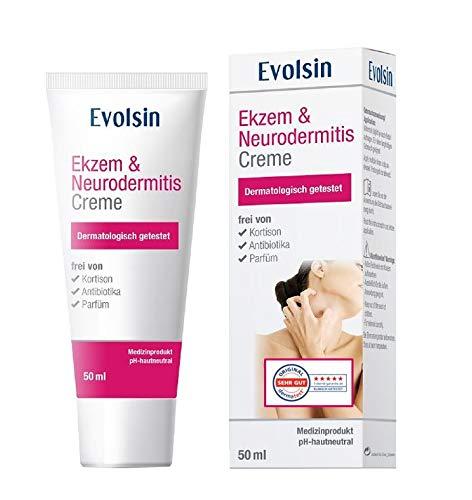 VERGLEICHSIEGER: Evolsin® Ekzem & Neurodermitis Creme I OHNE KORTISON I Lotion,...