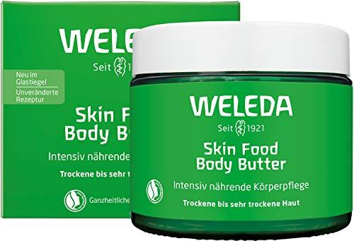 WELEDA Skin Food Body Butter vegane Körperbutter in neuem Glastiegel -...
