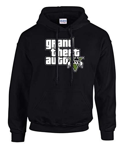 shirt19 GTA V GTA 5 Grand Theft Auto 5 Rockstar Jogos Games Logo Kapuzenpullover...