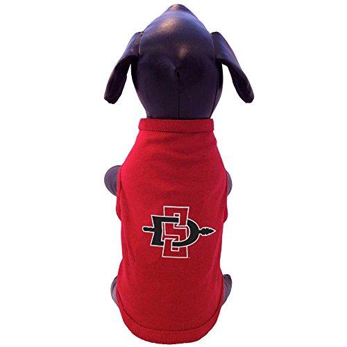 All Star Dogs NCAA San Diego State Azteken-Baumwoll-Lycra, XX-Small