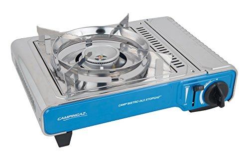 Campingaz Camp Bistro DLX Stopgaz kompakter Outdoor Gas-/ Gaskartuschen-/...