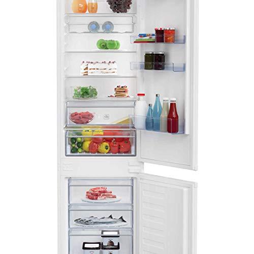 Kombi-Kühlschrank, Einbau 220 Liter Klasse A++ statisch mit Lüfter