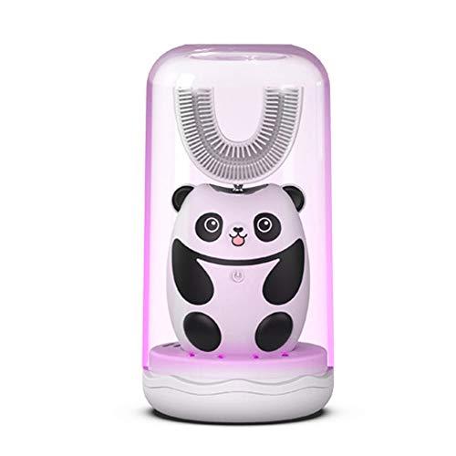 MSQL U-förmige automatische Zahnbürste für Kinder, Cartoon Panda Smart...