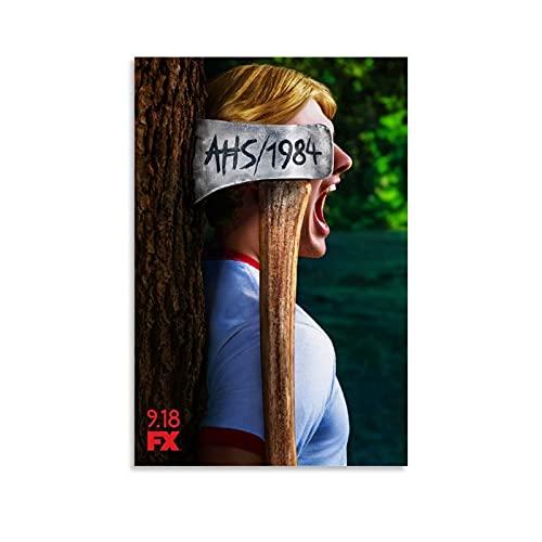 NCCDY American Horror Story AHS Poster Staffel 9 AHS für Zimmer, ästhetisches...
