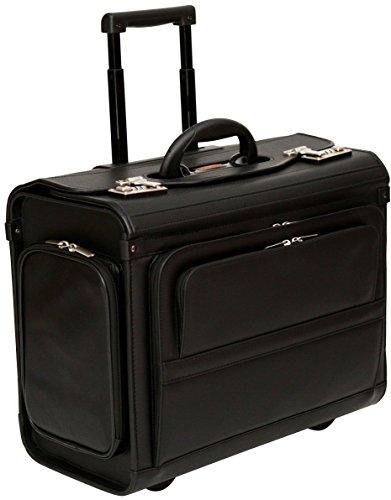 """Pilotenkoffer mit Rollen - Laptopfach (17,3"""") - Handgepäcksgröße"""