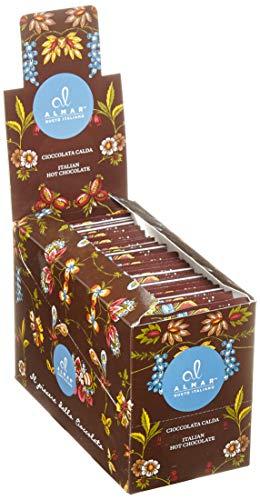 Almar italienische heiße Schokolade Cortina ZARTBITTER-SCHOKOLADE - (25x30 g)...